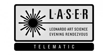LASER (Leonardo Art Science Evening Rendezvous) logo